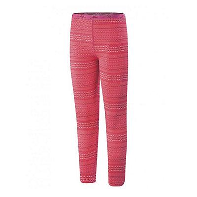 Terramar 2.0 Thermolator Girls Girls Long Underwear Bottom, Poppy Rick Rack, viewer