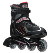 Bladerunner Pro 80 Inline Skates, Black-Red, medium