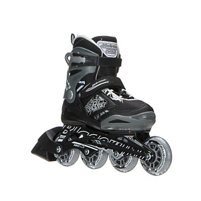 Bladerunner Phoenix Adjustable Kids Inline Skates 2017, Black-Silver, viewer