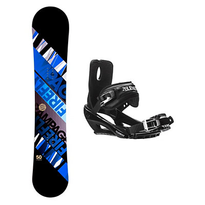 Firefly Rampage Stealth 3 Snowboard and Binding Package, , viewer