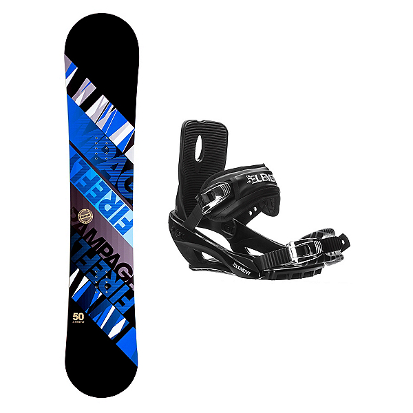 Firefly Rampage Stealth 3 Snowboard and Binding Package, , 600
