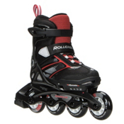 Rollerblade Spitfire XT Kids Inline Skates 2017, Black-Red, medium