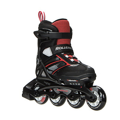 Rollerblade Spitfire XT Kids Inline Skates 2017, Black-Red, viewer
