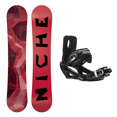 Niche Knew Wide Stealth 3 Snowboard and Binding Package, , viewer