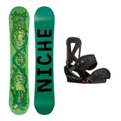 Niche Theme Custom Snowboard and Binding Package, , medium