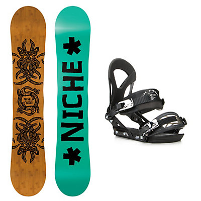 Niche Story 2.0 EX Snowboard and Binding Package, , viewer