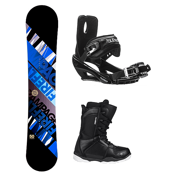 Firefly Rampage ST-1 Complete Snowboard Package, , 600
