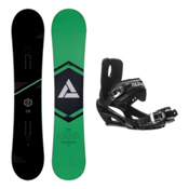 Academy Snowboards Icon Green Stealth 3 Snowboard and Binding Package, , medium