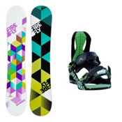 Firefly Spheric Siren Womens Snowboard and Binding Package, , medium