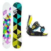 Firefly Spheric Haylo Womens Snowboard and Binding Package, , medium