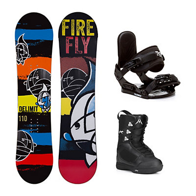 Firefly Delimit Squirt Kids Complete Snowboard Package, , viewer