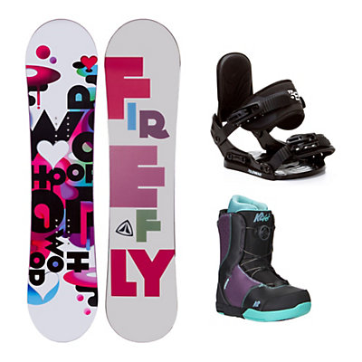 Firefly Whoop PMR Kat Boa Girls Complete Snowboard Package, , viewer
