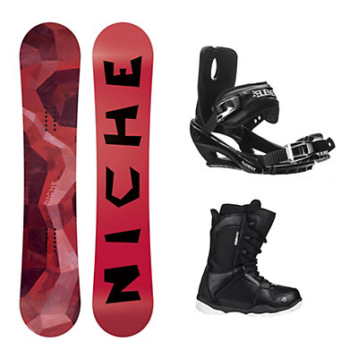Niche Knew Wide ST-1 Complete Snowboard Package, , viewer