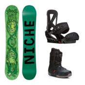 Niche Theme Seem Complete Snowboard Package, , medium