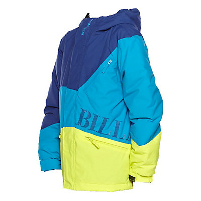 Billabong Buddy Boys Snowboard Jacket, Bubble Blue, viewer