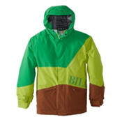 Billabong Buddy Boys Snowboard Jacket, Poison Green, medium
