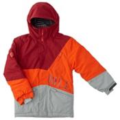 Billabong Buddy Boys Snowboard Jacket, Tango Red, medium