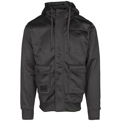 Billabong Launch Zip Mens Hoodie, Black, viewer