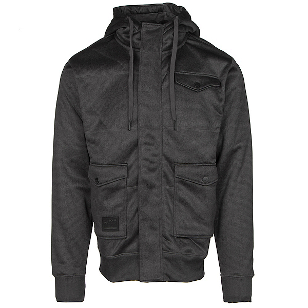 Billabong Launch Zip Mens Hoodie, Black, 600