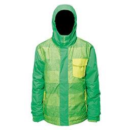 Billabong Over Boys Snowboard Jacket, Acid Green, 256