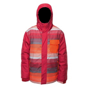 Billabong Over Boys Snowboard Jacket, Bordeaux, medium