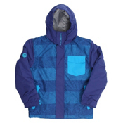 Billabong Over Boys Snowboard Jacket, Sodalite Blue, medium