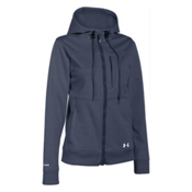 Under Armour CGI Dobson Softershell Womens Soft Shell Jacket, Mechanic Blue-Sugar Mint, medium