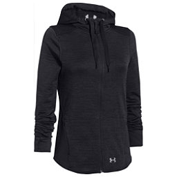 Under Armour Gamut FZ Womens Hoodie, Asphalt Heather-Black-Boulder, 256