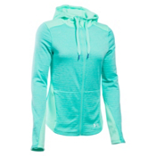 Under Armour Gamut FZ Womens Hoodie, Crystal-Aqua Falls-Aqua Falls, medium