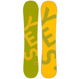 YES Basic Camrock Boys Snowboard, Green, 256