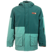 Billabong Crook Mens Jacket, Oil Blue, medium