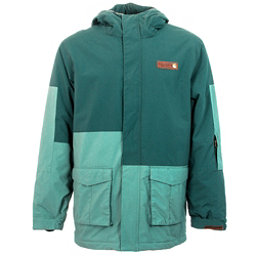 Billabong Crook Mens Jacket, Oil Blue, 256