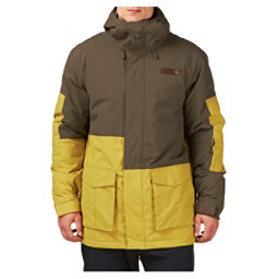 Billabong Crook Mens Jacket, Tawny Olive, 256