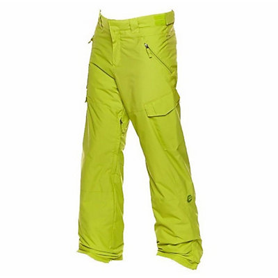 Billabong Cab 13 Mens Snowboard Pants, Poison Green, viewer