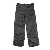 Billabong Cargo Boys Kids Snowboard Pants, Black, medium