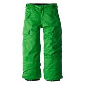 Billabong Cargo Boys Kids Snowboard Pants, Kelly Green, medium