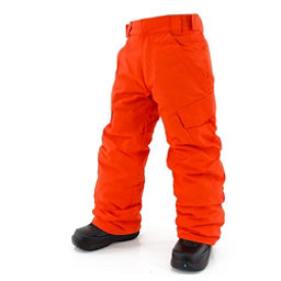 Billabong Cargo Boys Kids Snowboard Pants, Red, 256