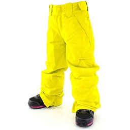 Billabong Twisty Girls Snowboard Pants, Acid Yellow, 256