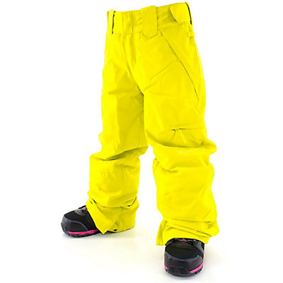 Billabong Twisty Girls Snowboard Pants, Acid Yellow, viewer
