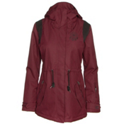 Billabong Anderson Womens Jacket, Black Cherry, medium