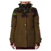 Billabong Z74 Womens Jacket, Military, medium