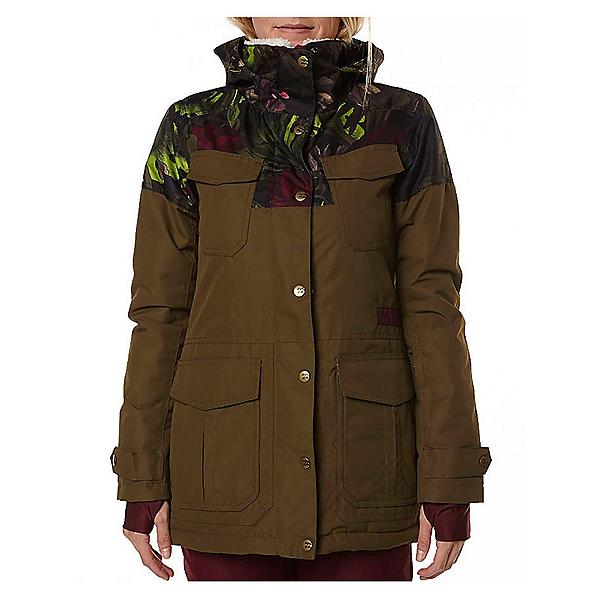 Billabong Z74 Womens Jacket, Military, 600