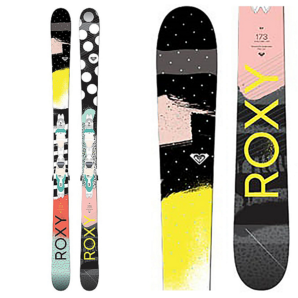 Roxy Ily Womens Skis with Xpress 11 Bindings, , 600