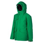 Billabong Stance Boys Snowboard Jacket, Golf Green, medium