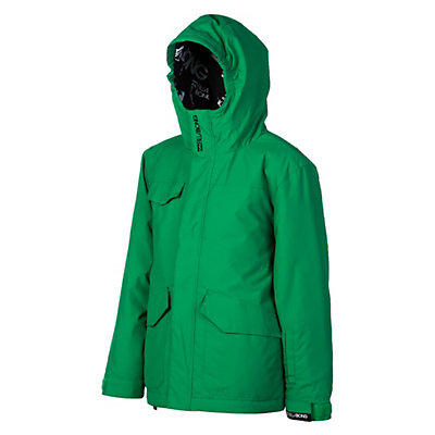 Billabong Stance Boys Snowboard Jacket, Golf Green, viewer