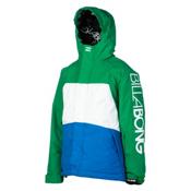Billabong Strike Boys Snowboard Jacket, Golf Green, medium