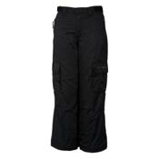 Billabong Felt Kids Snowboard Pants, Black, medium