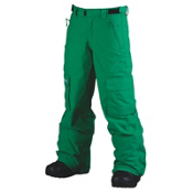 Billabong Fringe Kids Snowboard Pants, Golf Green, medium