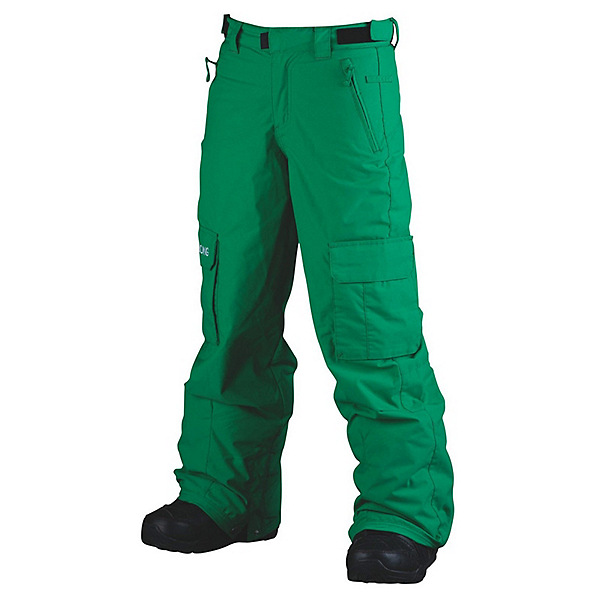 Billabong Fringe Kids Snowboard Pants, Golf Green, 600