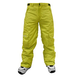 Billabong Fringe Kids Snowboard Pants, Lime, 256